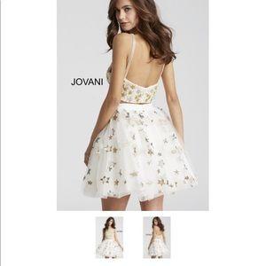 Jovani 54596 Star 2piece Dress/Bat Mitzvah  SZ 00